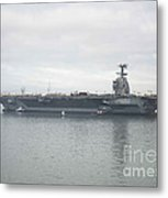 Pre-commissioning Unit Gerald R. Ford Metal Print