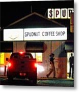 Pre-dawn Spudnut Run Metal Print