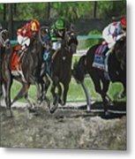 Preakness 2010 Horse Racing Metal Print