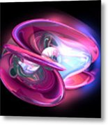Precious Pearl Abstract Metal Print