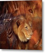 Predator And Prey Metal Print