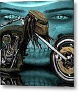Predator Chopper Metal Print