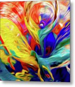 Premorphationism Glass Metal Print