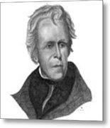 President Andrew Jackson Metal Print