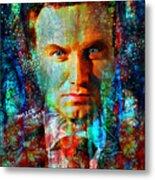 President Andrzej Duda Portrait Metal Print
