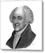 President John Adams Metal Print