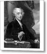 President John Adams - Three Metal Print