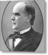 President Mckinley Metal Print