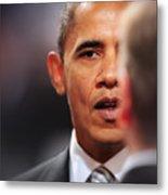 President Obama II Metal Print