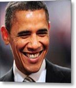 President Obama Iv Metal Print