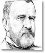 President Ulysses S Grant Metal Print