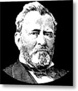 President Ulysses S. Grant Metal Print