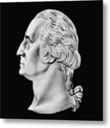 President Washington Bust  Metal Print