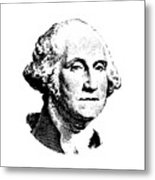 President Washington Metal Print