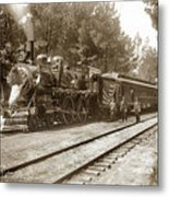 President William Mckinleys Presidential Locomotive No. 1456  May 1901 Metal Print
