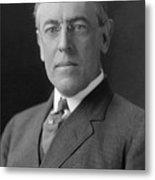 President Woodrow Wilson Metal Print
