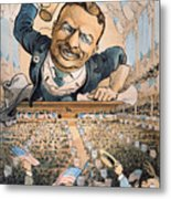 Presidential Campaign, 1904 Metal Print