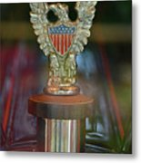 Presidential Hood Ornament Metal Print