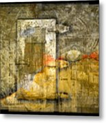 Presidio Door Metal Print