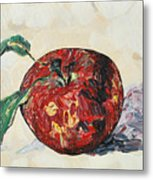 Pretty Apple Metal Print
