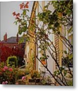 Pretty English Cottage  Metal Print