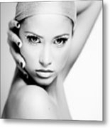 Pretty Face - Check For Full Size - Image Is Intentionally Unfocussed  Metal Print
