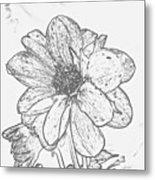 Pretty Flower Metal Print