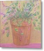 Pretty Flowers In Pink Metal Print