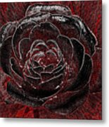 Pretty In Red Metal Print