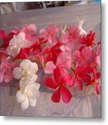 Pretty Little Flowers Metal Print