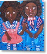 Pretty Peter And Penny Metal Print