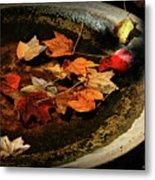 Priceless Leaves Fall Metal Print