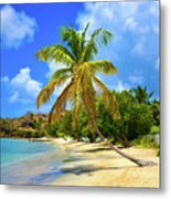 Prickly Bay Metal Print