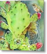 Prickly Pair Metal Print