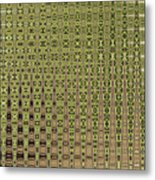 Prickly Pear Abstract # 5271wt Metal Print