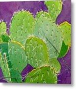 Prickly Pear Cacti  Metal Print