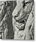Pride Of Lions Metal Print