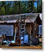 Priest Lake Lumber Mill Metal Print