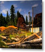Priest Lake Mill Metal Print
