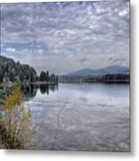 Priest River Panorama 8 Metal Print