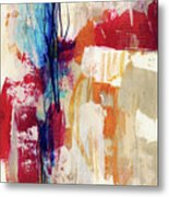 Primary 2- Abstract Art By Linda Woods Metal Print