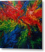 Primary Abstract II Metal Print