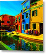 Primary Colors 2 Metal Print