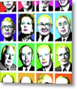'prime Ministers Question Time X 16' Metal Print
