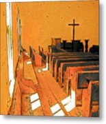 Primitive Church - Sunday Morning Metal Print