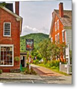 Prince And The Pauper Restaurant In Woodstock-vermont  Metal Print