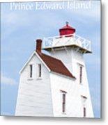 Prince Edward Island Lighthouse Poster Metal Print