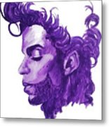 Prince-he Wasn't Finished Metal Print