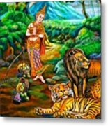 Prince In The Forest Of Life Metal Print