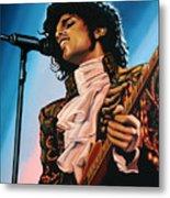 Prince Painting Metal Print